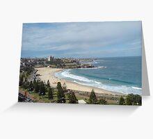 Coogee Beach Sydney Australia Greeting Card