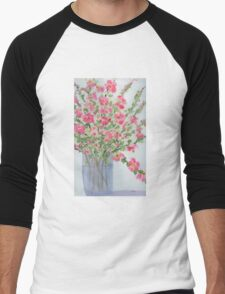 Spring Blossoms  Men's Baseball ¾ T-Shirt