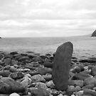 Isle of Man, Rocky Cove by Peller