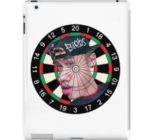 Biebs Dartboard iPad Case/Skin
