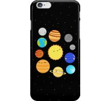 The Solar System iPhone Case/Skin