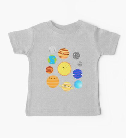 The Solar System Baby Tee