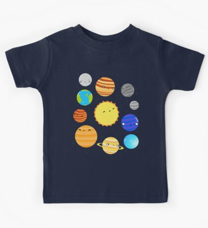The Solar System Kids Tee