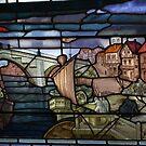 stained glass 2, Merchant Adventurers' Hall, York by BronReid