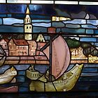 stained glass 3, Merchant Adventurers' Hall, York by BronReid