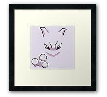 Classic Mewtwo Framed Print