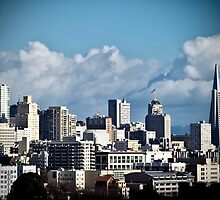 San Francisco Skyline by Nathan Jermyn