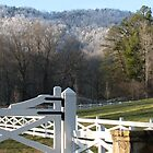 Blackberry Farm Homestead Gate-2, BBF Hotel by JeffeeArt4u