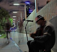 Melbourne Busking by Joanna Beilby