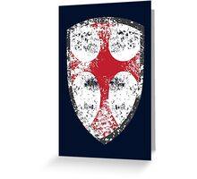 Crusader  Greeting Card