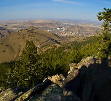 Golden Colorado at Lookout Mountain by Roschetzky