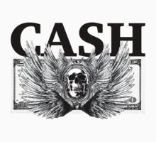Cash Wings Skull  by peaceloveunity