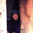 Old women in China  by hagit ben yakar shechter