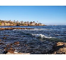 Beautiful Day In La Jolla Photographic Print