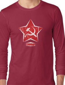 Communist Superstar Long Sleeve T-Shirt