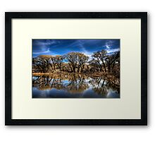 Willow Creek Cove Framed Print