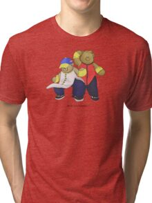 BEARS and FIGHTERS - Yun and Yang Tri-blend T-Shirt