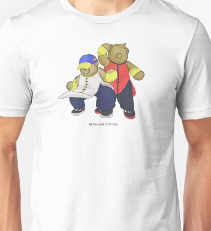 BEARS and FIGHTERS - Yun and Yang Unisex T-Shirt