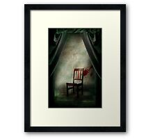 Composition with a chair Framed Print