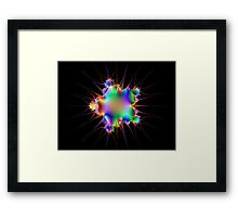 Starburst Framed Print