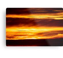 Fire on High Metal Print