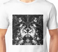 THE MYSTIC WAY (black & white art) ~ Unisex T-Shirt