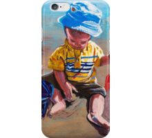 First Day At The Beach iPhone Case/Skin