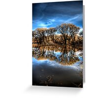 Willow Creek Cove 2 Portrait Greeting Card