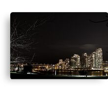 Evening skyline. Canvas Print