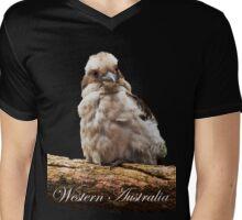 Kookaburra Mens V-Neck T-Shirt