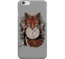 wolf of the city iPhone Case/Skin