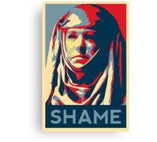 Shame (GOT) Canvas Print