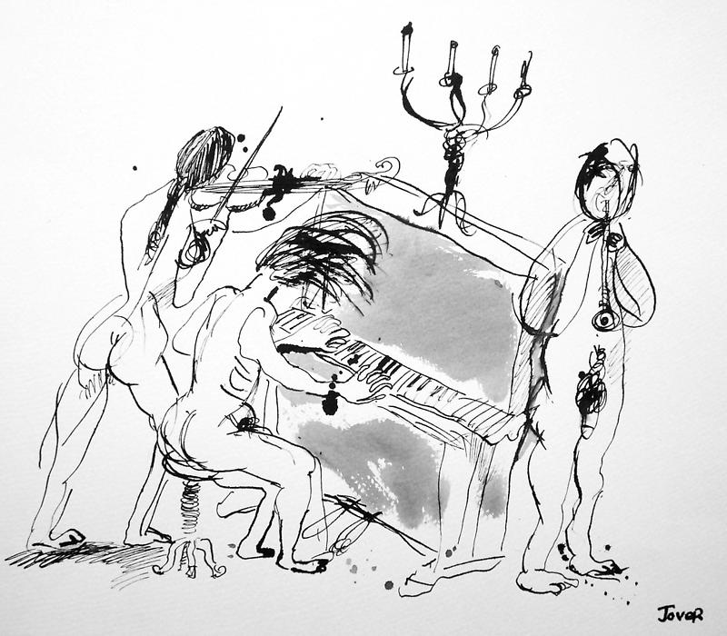 music trio by Loui  Jover