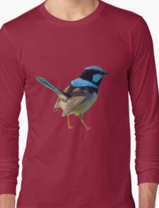 Blue Wren Long Sleeve T-Shirt