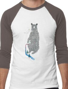 Bear Sesh Men's Baseball ¾ T-Shirt
