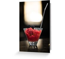 Cushdy Cocktail Greeting Card