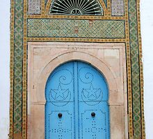 Bardo Museum Doorway by Laurel Talabere