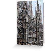 Milano Duomo  Greeting Card