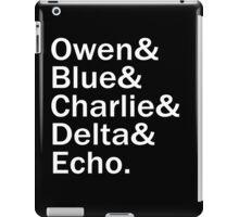The Raptors - White iPad Case/Skin