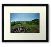 After Rain. Mountain landscape. Framed Print