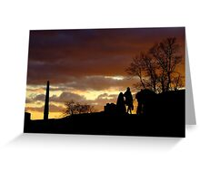 A Long Day Shopping Greeting Card