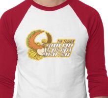 Tin Tower Sacred Fires: Ho-oh Sports Logo Men's Baseball ¾ T-Shirt
