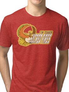 Tin Tower Sacred Fires: Ho-oh Sports Logo Tri-blend T-Shirt