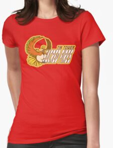 Tin Tower Sacred Fires: Ho-oh Sports Logo Womens Fitted T-Shirt