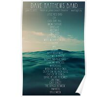 Dave Matthews Band - Jones Beach - Setlist Poster