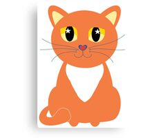 Only Orange Marmalade Cat Canvas Print