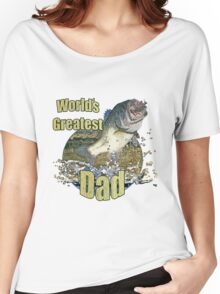 Worlds greatest dad Women's Relaxed Fit T-Shirt
