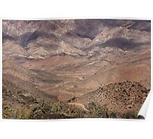 Helskloof in the mountain desert of the Richtersveld, Northern Cape, South Africa Poster