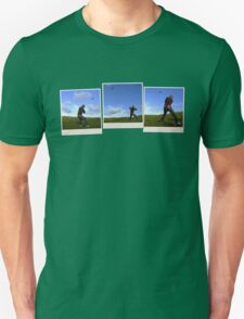 Polaroid kite flying Unisex T-Shirt