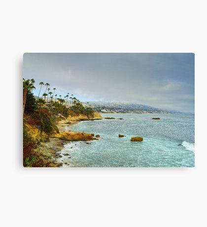 Laguna Beach Coastline Canvas Print